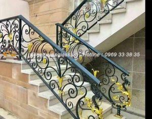 100 mẫu cầu thang sắt nghệ thuật độc đáo nhất hiện nay