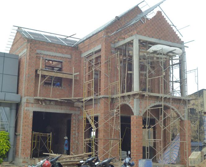 xây nhà