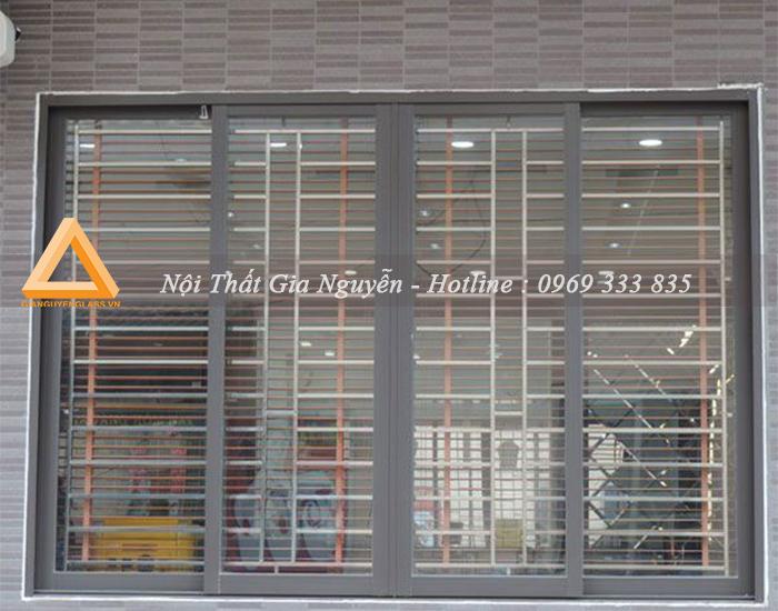 Cửa sổ mở trượt nhôm Xingfa cao cấp đẹp