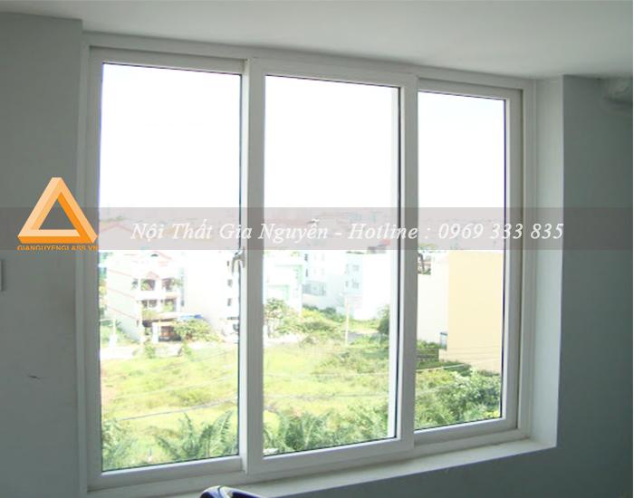 Cửa sổ mở trượt nhôm Xingfa cao cấp màu trắng